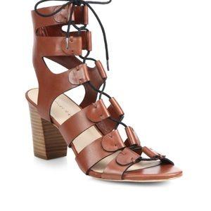 Loeffler Randall Lace Up Leather Gladiator Sandal